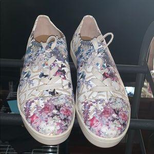 Calvin Klein Floral sneakers